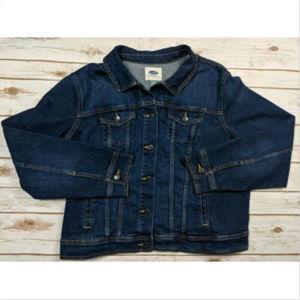 Old Navy Unisex Blue Denim Jacket Size XXL